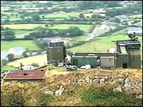 Sugarloaf Mountain watchtower  (Army picture)