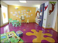 Hospice arts and crafts room (pic supplied by Shooting Star Hospice)