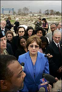 Louisiana Governor Kathleen Babineaux Blanco