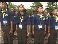 Scouts from Indonesia
