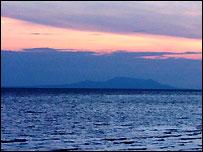 Sunset over Lake Victoria, sent in by BBC News website reader Nyokabi Kahura
