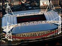 The Millennium Stadium has benefited as a Wembley alternative