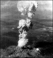 Hiroshima explosion (Photo: Smithsonian Institution)