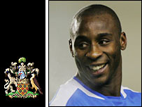 Wigan striker Jason Roberts