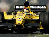 Jordan driver Tiago Monteiro