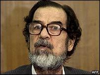 Former Iraqi President Saddam Hussein
