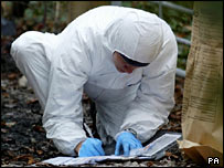 Forensic scientist (PA)