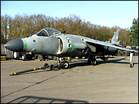 Sea Harrier Jet
