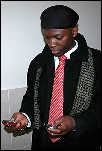 Juldas Okie Etoumbi, leader of the African students at RUDN