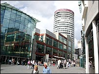 Bullring shopping centre, Birmingham