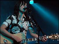 KT Tunstall. Pic by Bryan Ledgard for BBC Radio 2