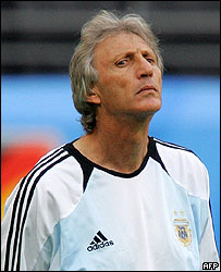 Jos� Pekerman, t�cnico argentino.