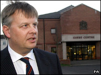 Defence solicitor Paul Colhoun