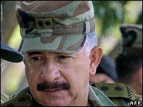 El general Reinaldo Castellanos