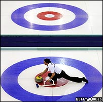 US v GB women's curling match