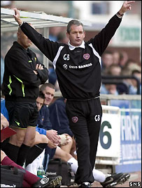 George Burley watches his side beat Killie