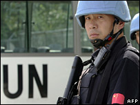Chinese peacekeeping in Haiti