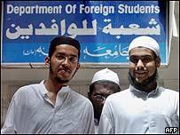 Foreign madrassa students in Pakistan