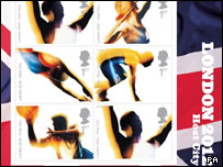 Olympic stamps