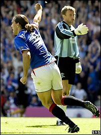 Dado Prso was superb for Rangers