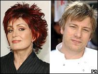 Sharon Osbourne/Jamie Oliver