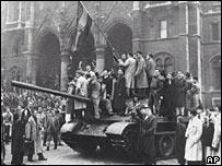 Демонстрация в Будапеште 23 октября 1956 года