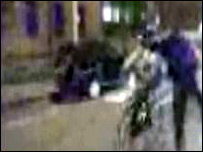 Assault caught on mobile phone