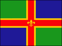 Lincolnshire flag