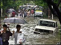 Floods in Mumbai (Bombay)