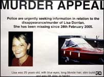 New Dorrian murder poster