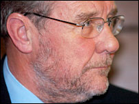 Sports minister Richard Caborn