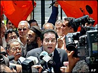 Egyptian opposition politician Ayman Nour