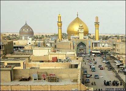 Shrine in Samarra before the explosion