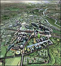 Stratford City, picture courtesy of New London Architecture