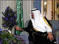 The new King Abdullah of Saudi Arabia