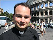 Father Roderick Vonhogen in Rome