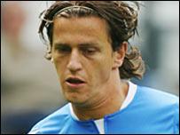 Birmingham striker Njazi Kuqi