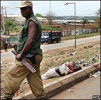 Policeman in Onitsha