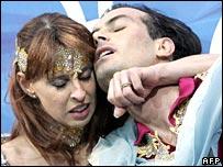 Barbara Fusar-Poli and Maurizio Margaglio