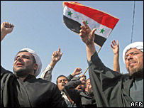 Shia clerics protest in Basra