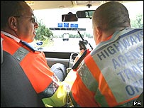 Highways Agency traffic officers