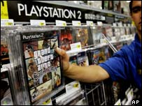 GTA: San Andreas being removed from shelf. AP