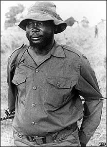 John Garang in 1986