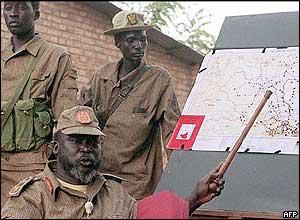 John Garang in 1997