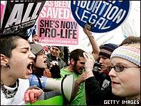 Debate sobre el aborto en EE.UU.