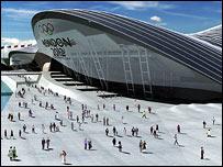 London Aquatic Centre, picture courtesy of New London Architecture