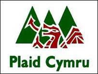 Plaid Cymryu's visual logo