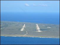 Tinian airbase (BBC)