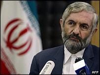 Iranian nuclear negotiator Ali Agha Mohammadi