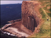 Fingals Cave on Staffa
